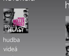 Hudba do Windows Phone