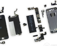 iPhone 6 zvnútra