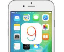 Apple update na iOS 9