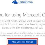 Udržte si 15 Gb priestoru na OneDrive