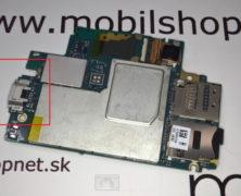 Poškodený microUSB konektor